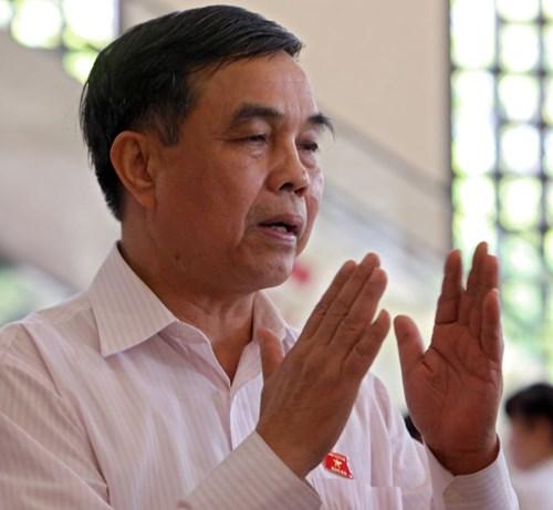 Ông Lê Việt Trường - Phó chủ nhiệm Ủy ban Quốc phòng và an ninh của Quốc hội (Ảnh: Việt Dũng)