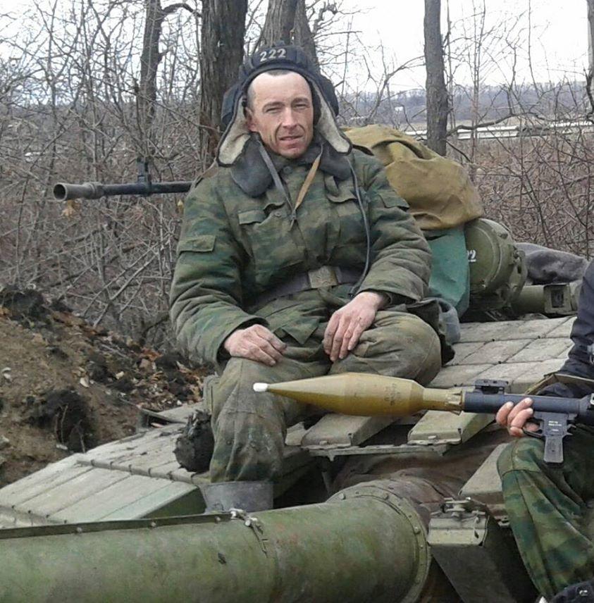 """Bức ảnh chụp người """"lính Nga"""" do Chaban đăng lên mạng"""