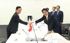 Thủ tướng Nguyễn Tấn Dũng và Thủ tướng Nhật Bản Shinzo Abe bên lề Hội nghị cấp cao ASEM 10 tại Milan, Italy, ngày 16/10/2014