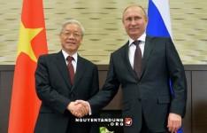 Tổng bí thư Nguyễn Phú Trọng gặp gỡ Tổng thống Nga Putin ngày 25/11/2014