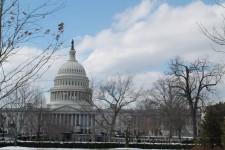 Tại Washington DC. Ảnh: Thu Hà