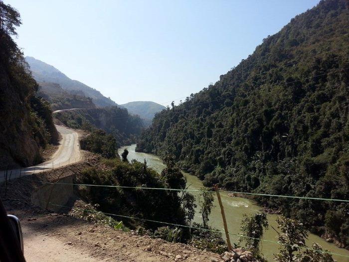 Đường vào Nậm Nhùn, Lai Châu