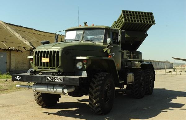"""""""Sát thủ diệt tăng"""" Tornado-G ở Ukraine"""