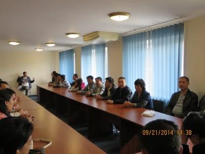 Lễ trao nhận hàng cứu trợ tại TP. Mariupol