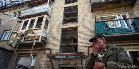 Dân thường Donbass, Ukraina. Ảnh: Telegraf-EPA.