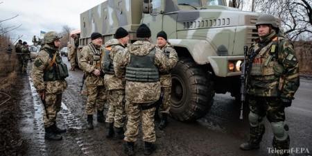 """Tiểu đoàn """"Donbass"""". Ảnh: Telegraf-EPA"""