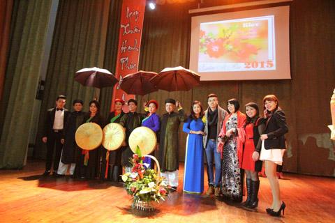 Người Việt tại Ukraina đón Tết Ất Mùi