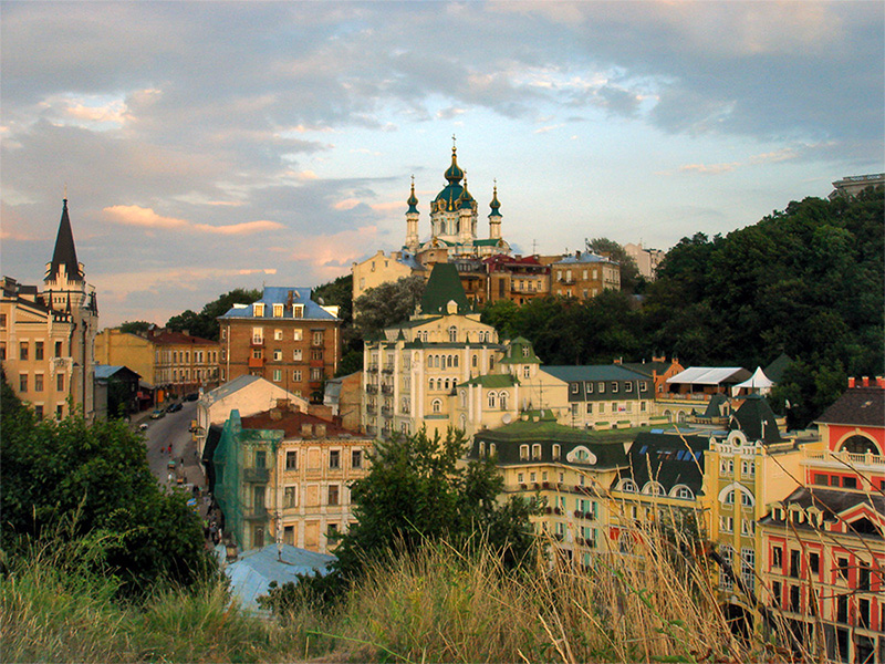 Красивые-фотографии-Киева-Андреевский-спуск