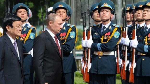 Tổng thống Nga Vladimir Putin thăm Việt Nam năm 2013
