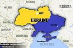 Bản đồ cho thấy vị trí của Crimea
