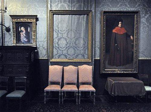 Bên trong bảo tàng Isabella Stewart Gardner.