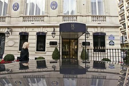 Một cửa hàng trang sức ở Paris.