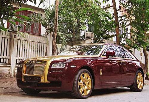 Siêu xe mạ vàng của ông chủ đứng đầu đơn vị phân phối Rolls-Royce ở Việt Nam