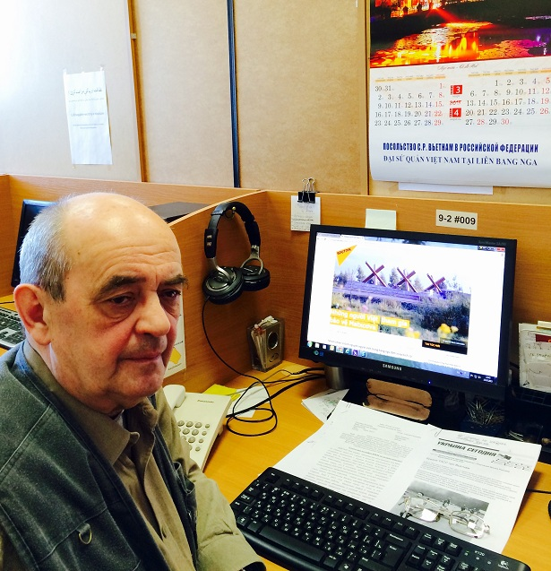 Nhà báo Alexei Syunnerberg