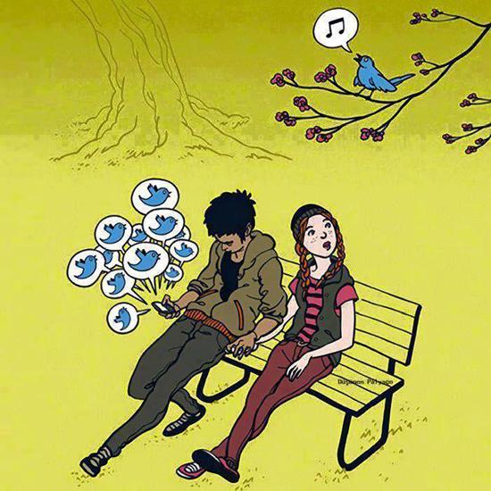 Sự khác biệt giữa Twitter thật và ảo