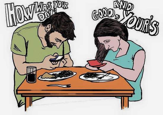 Đây là cách tâm tình khi hẹn hò thời công nghệ