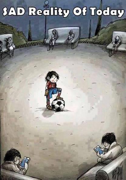 Hiện thực đau lòng khi trẻ em hiện nay chơi đùa như thế này