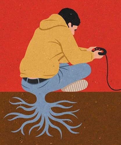 Một khi đã cắm đầu vào công nghệ là nhất định phải mọc rễ