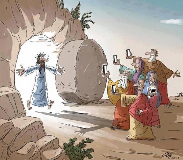 Chúa phục sinh là sự kiện nóng cần phải cập nhật ngay