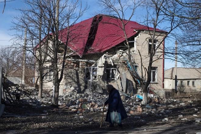 Căn nhà xập xệ