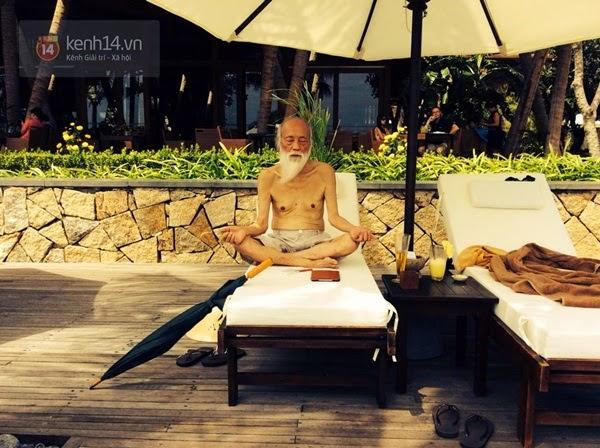 Những lúc thấy trong lòng phiền muộn, thầy Cương lại ngồi thiền để tĩnh tâm, bớt suy nghĩ, lo toan - (Ảnh: NVCC).