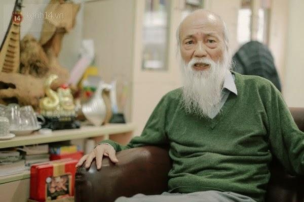 Dù đã bước sang tuổi 78 nhưng PGS. Văn Như Cương vẫn hết sức minh mẫn, mạnh khỏe.