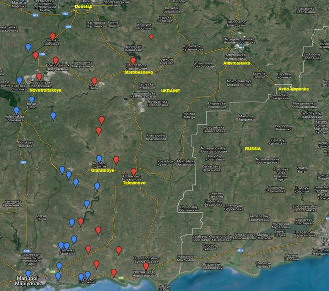 Ly khai đang tìm cách chiếm toàn bộ hai đường cao tốc từ Donetsk đến Burgas và đến Novoazovsk.