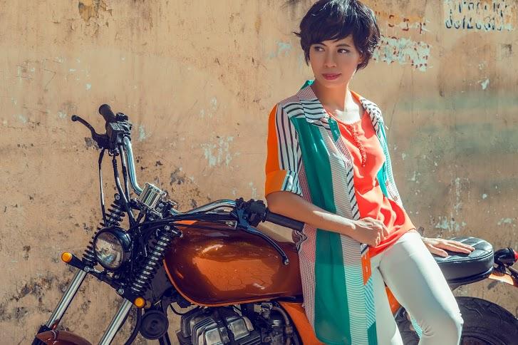 Trang Hạ khác lạ trong bộ trang phục của NTK Đỗ Trịnh Hoài Nam