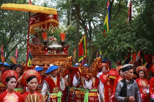 Lễ giỗ Tổ Hùng Vương là dịp con cháu người Việt tưởng nhớ và hướng về cội nguồn