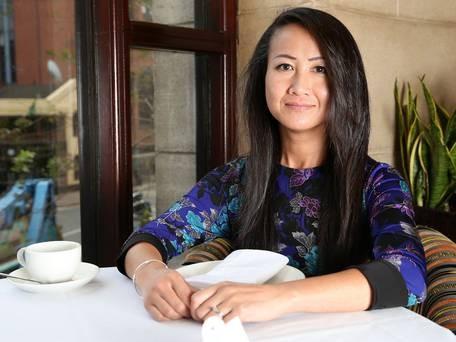 Tanya Mai dù vẫn chưa biết cha mẹ ruột của mình, song cô vẫn có cảm giác gắn bó nguồn cội khi trở lại quê hương - Ảnh: Telegraph