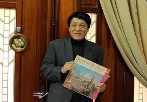 Nhà báo Nguyễn Đăng Phát, người yêu mến nước Nga và một chiếc đĩa than Liên Xô