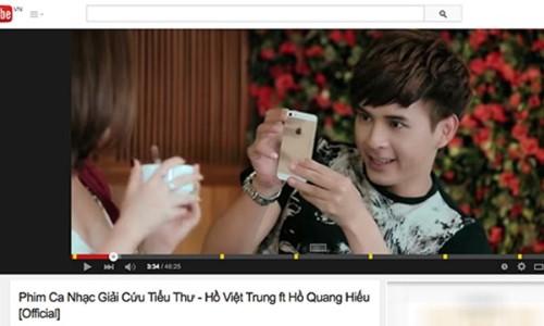 Hồ Quang Hiếu chính là ca sĩ Việt đầu tiên được Youtube vinh danh