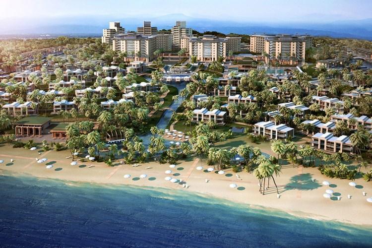 Phối cảnh dự án khu nghỉ dưỡng ALMA tại Cam Ranh do tỷ phú Igal Ahouvi làm chủ đầu tư.