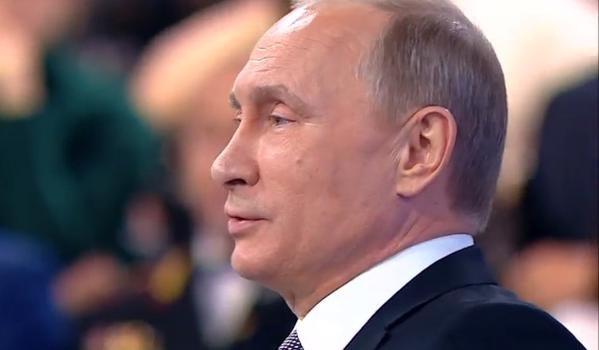 Ông Putin khẳng định ông Poroshenko đã phạm nhiều sai lầm.