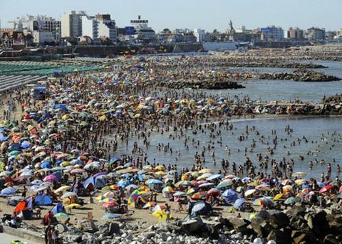 Biển Mar del Plata ở Argentina