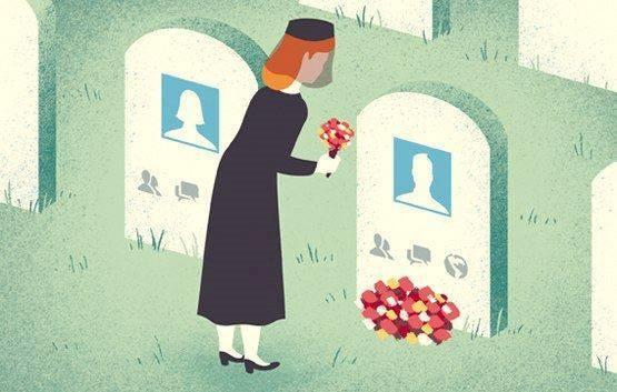 Người ta tưởng nhớ người đã khuất trên mạng xã hội chứ không phải trong đời thực.