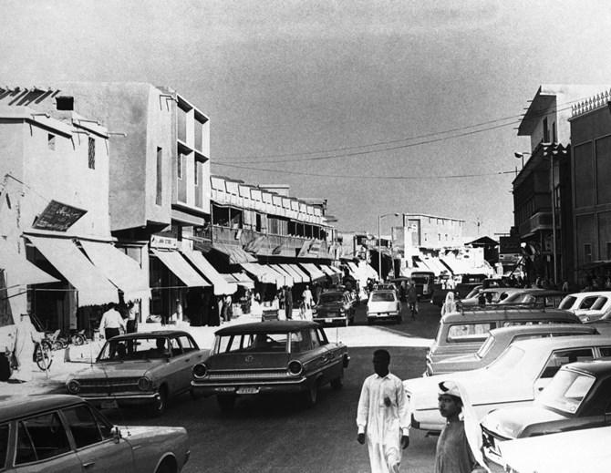 Khu thương mại Doha vào năm 1968. Ảnh: AP.