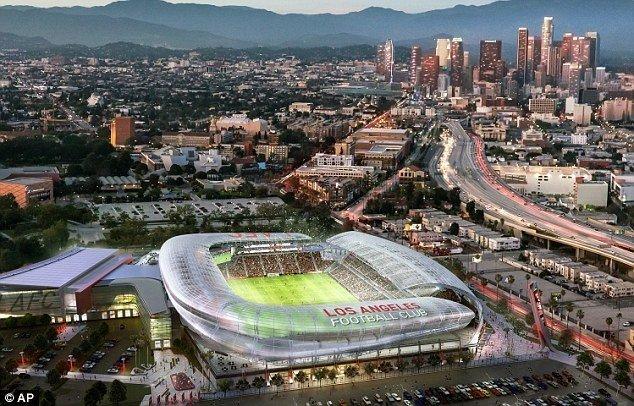 Sân vận động của Los Angeles FC có sức chứa 22.000 chỗ ngồi