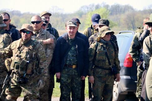 Các tân binh trong độ tuổi từ 17 đến 74. (Ảnh: Nolan Peterson / The Signal Daily)