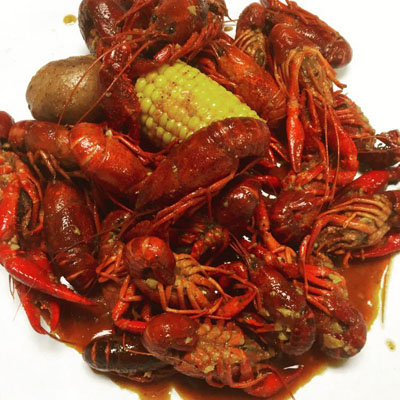 Crawfish tại Crawfish Cafe (Hình: Facebook Crawfish Cafe)