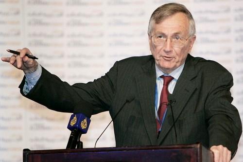 Phóng viên điều tra kỳ cựu người Mỹ, Seymour Hersh - Ảnh: Reuters