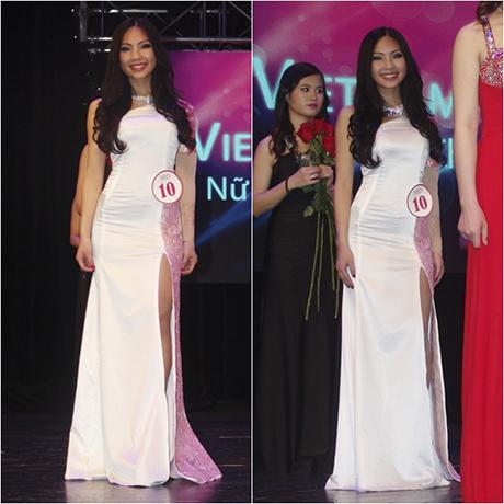 Phương Thảo rạng rỡ trong đêm chung kết cuộc thi Miss
