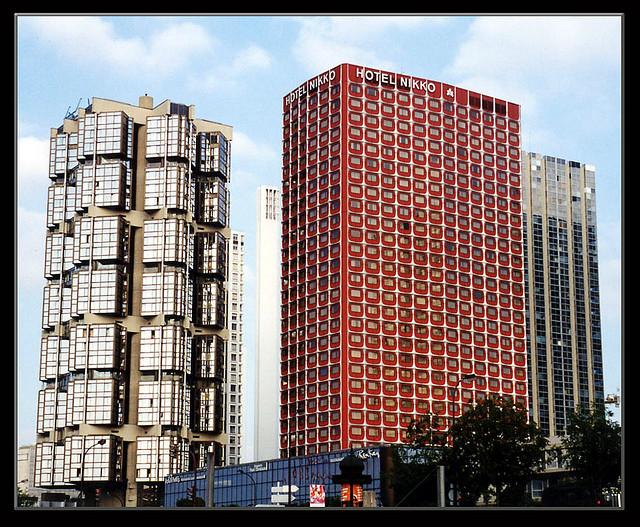 Khách sạn Nikko nằm giữa trung tâm thủ đô Paris, Pháp