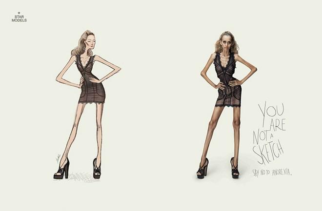Bạn không phải người mẫu trên trang vẽ nên hãy dừng ngay việc ăn kiêng.