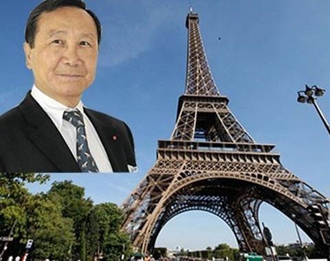 """Ông Chúc Hoàng và thương vụ """"mua lại tháp Eiffel"""" không thành năm 2014"""