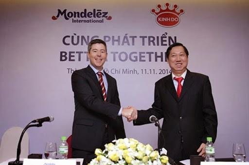 Tháng 11/2014, Kinh Đô chấp nhận bán mình cho công ty ngoại với giá 370 triệu USD. Ảnh: SGTT.