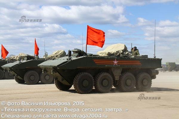 Ngoài ra, tháp pháo có thể được trang bị thêm 4 tên lửa chống tăng có điều khiển.
