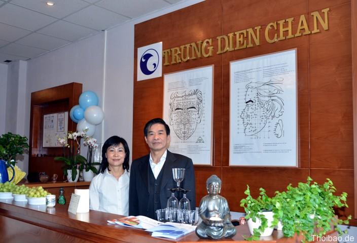 Trung tâm chăm sóc sức khỏe của anh Lưu Quang Trung ở Prenzlauer Allee 191, 10405 Berlin.