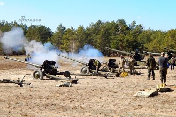 Bắn thử pháo chống tăng D-44 85mm sau khi hoàn tất sửa chữa.