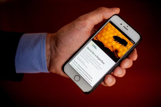 """Bài báo đầu tiên của National Geographic """"trực tiếp xuất bản"""" trên Facebook theo kiểu Instant Articles ngày 13-5. Ảnh: NYT"""